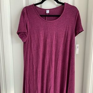 Old Navy Wine Swing Dress Size Large NWT